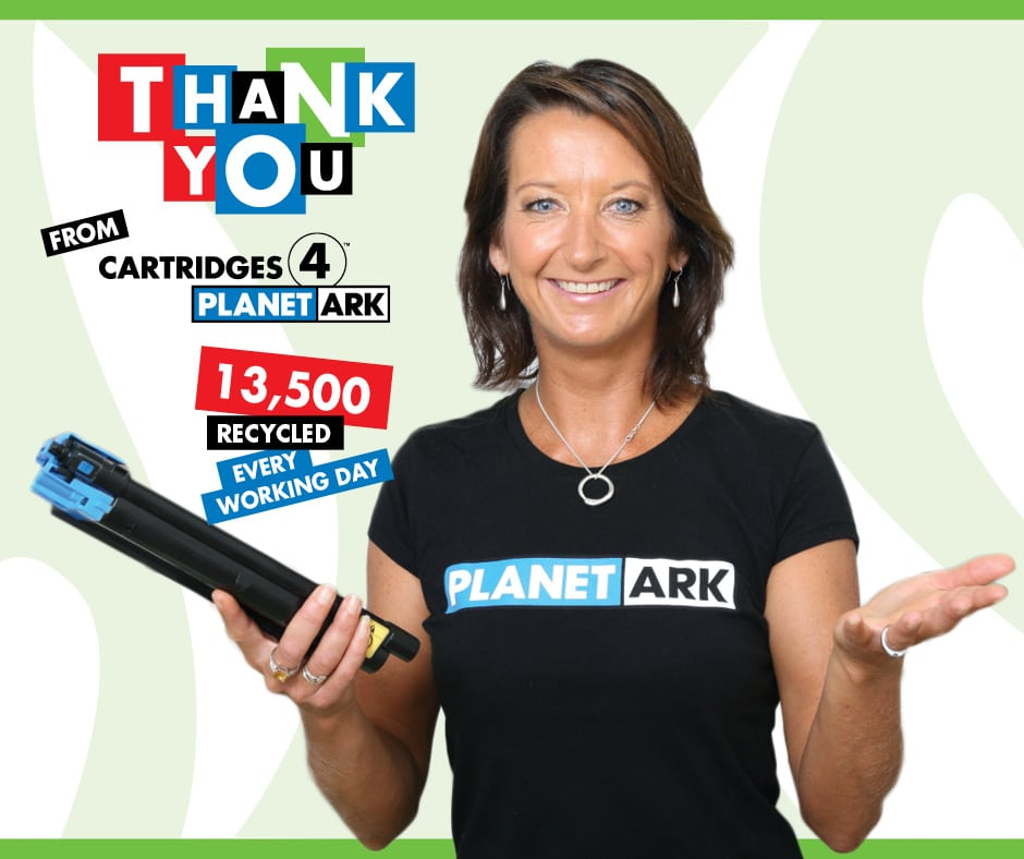 Planet Ark campaign with Vicki Philipoff